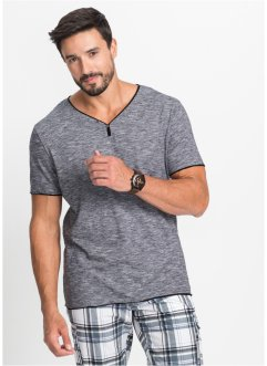 T-shirt con scollo a V, bpc bonprix collection