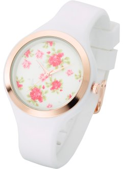 Orologio con quadrante a fiori, bpc bonprix collection