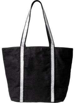 Borsa shopper con paillettes, bpc bonprix collection
