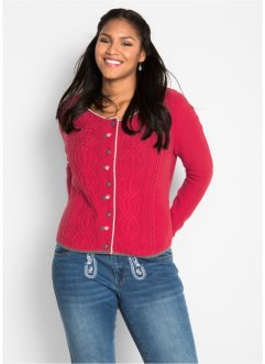 Cardigan con fiori ricamati, bpc bonprix collection