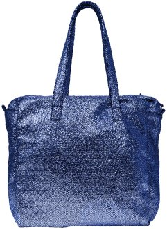 Borsa shopper metallizzata, bpc bonprix collection