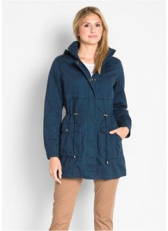 Parka in cotone foderato in jersey, bpc bonprix collection