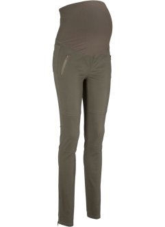 Pantalone prémaman in stile biker, bpc bonprix collection