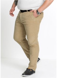 Pantalone chino in velluto regular fit, bpc bonprix collection