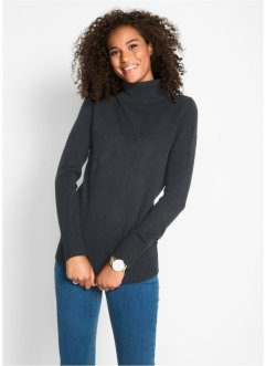 Maglione basic a collo alto, bpc bonprix collection