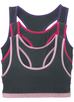Bustier per lo sport (pacco da 3), bpc bonprix collection