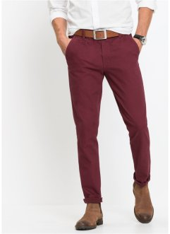 Pantalone chino elasticizzato slim fit, bpc bonprix collection