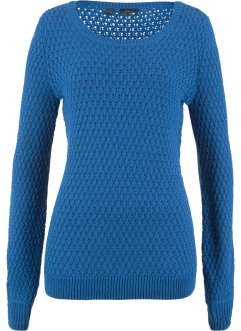 Pullover in maglia operata, bpc bonprix collection