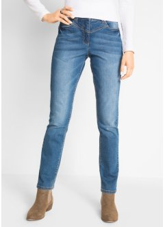 Jeans modellante con inserti laterali a costine, bpc bonprix collection