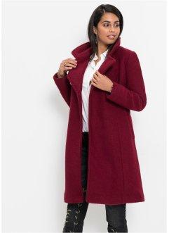 9153303a042c Cappotto in misto lana con collo a revers