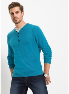 Pullover effetto 2 in 1 regular fit, bpc bonprix collection
