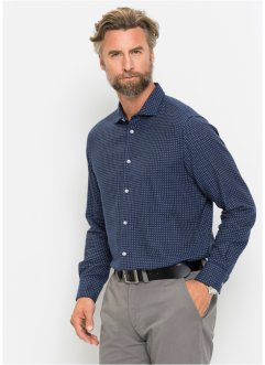 Camicia in flanella regular fit, bpc selection