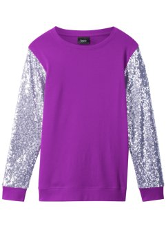 Maglia con paillettes, bpc bonprix collection