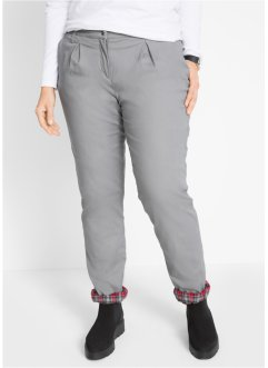 Pantaloni termici chino, bpc bonprix collection