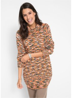Pullover con collo a ciambella, bpc bonprix collection