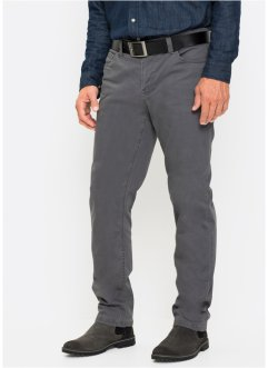 Pantaloni termici in twill elasticizzato regular fit, bpc selection