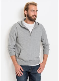 e1cde268cfa418 Pullover con cappuccio in cotone riciclato, bpc bonprix collection