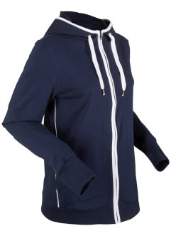 Felpa con zip e cappuccio, bpc bonprix collection