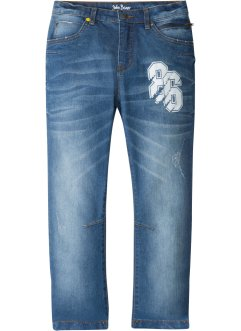 Jeans elasticizzati regular fit tapered, John Baner JEANSWEAR
