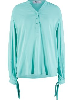 Blusa con fiocco a fondo manica, bpc bonprix collection