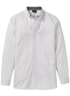 Camicia a manica lunga in microfantasia, bpc selection