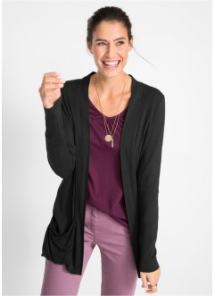 f707b91386629a Cardigan in maglina elasticizzata, bpc bonprix collection