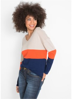 Pullover color block, John Baner JEANSWEAR