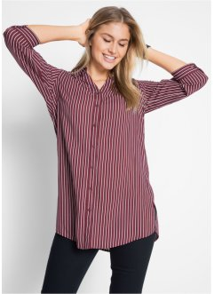 Camicia extra lunga con manica a 3/4, bpc bonprix collection