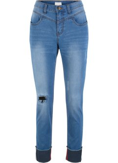 Jeans con risvolto moderno Maite Kelly, bpc bonprix collection