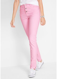 Pantalone elasticizzato con bottoni, bpc bonprix collection
