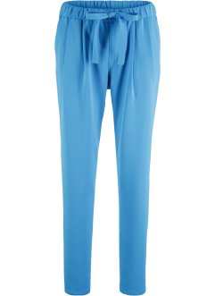 Pantalone in viscosa con cintura da annodare, bpc bonprix collection