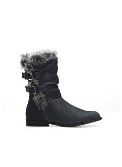 big sale f59d5 780fc Stivali con pelo donna: le scarpe ideali per la neve | bonprix
