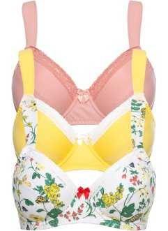 Reggiseno (pacco da 3), bpc bonprix collection
