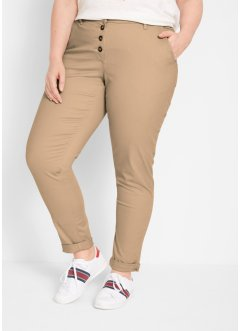 Pantaloni chino con bottoni, bpc bonprix collection
