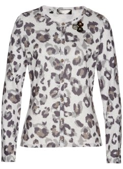 Cardigan in fantasia animalier, bpc selection