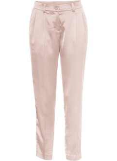 Pantalone in satin 7/8 con pinces, BODYFLIRT
