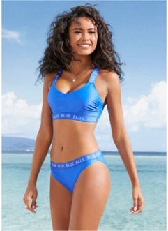 Bikini con bustier in materiale riciclato, bpc bonprix collection