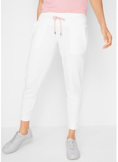 Pantaloni in felpa cropped livello 1, bpc bonprix collection