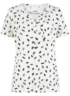 Blusa in maglina di lyocell sostenibile, bpc bonprix collection