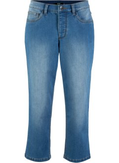 Jeans 3/4 in poliestere riciclato sostenibile, bpc bonprix collection