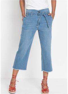 55a8eb1692d8 Culotte di jeans con cintura