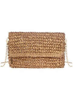 Pochette in simil paglia, bpc bonprix collection