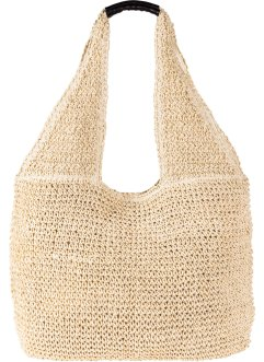 Borsa shopper in paglia, bpc bonprix collection