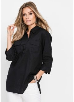 Blusa in misto lino, bpc selection