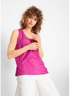 Top fantasia in cotone leggero, bpc bonprix collection