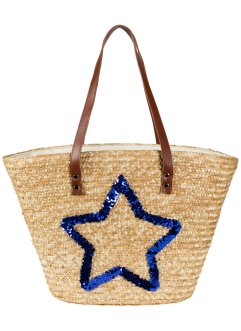 Borsa shopper in cartapaglia, bpc bonprix collection
