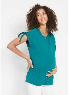 Maglia prémaman con cut-out alle maniche, bpc bonprix collection