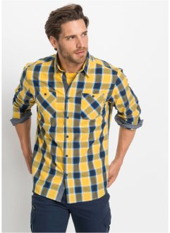 Camicia a quadri a maniche lunghe, bpc bonprix collection