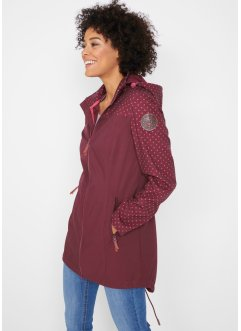 Giacca lunga fantasia in softshell, bpc bonprix collection