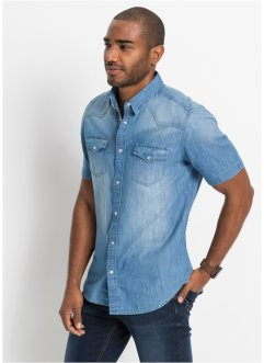 Camicia in jeans, John Baner JEANSWEAR